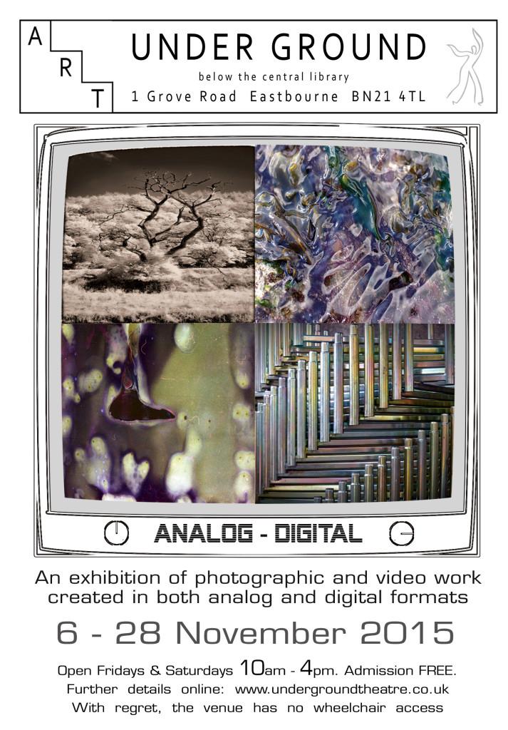 Analog Digital flyer